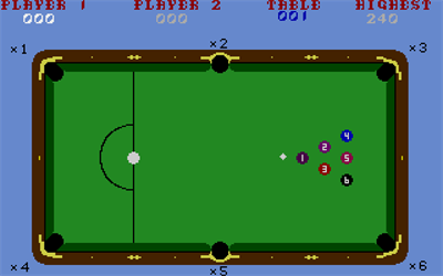 Electronic Pool Details LaunchBox Games Database - Electronic pool table