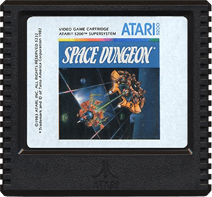 Space Dungeon - Cart - Front