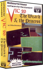 The Wizard and the Princess - Box - 3D