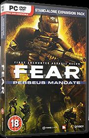 F.E.A.R.: Perseus Mandate - Box - 3D
