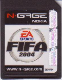 FIFA Soccer 2004 - Cart - Front