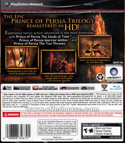 Prince of Persia Trilogy - Box - Back