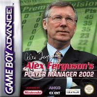 Alex Ferguson's Player Manager 2002 - Box - Front