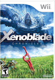 Xenoblade Chronicles - Box - Front - Reconstructed
