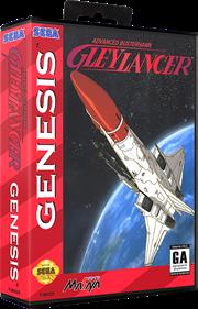 Advanced Busterhawk Gley Lancer - Box - 3D