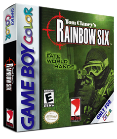 Tom Clancy's Rainbow Six - Box - 3D