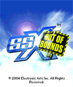 SSX: Out of Bounds - Screenshot - Game Title