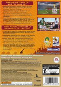 2010 FIFA World Cup South Africa - Box - Back