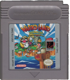 Wario Land: Super Mario Land 3 - Cart - Front