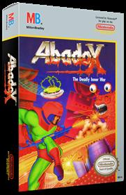 Abadox: The Deadly Inner War - Box - 3D