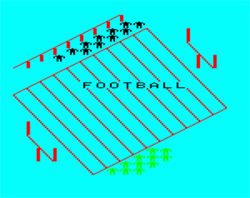 American Football - Screenshot - Game Title