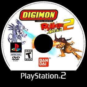 Digimon Rumble Arena 2 - Fanart - Disc