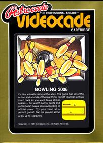 Bowling - Box - Front