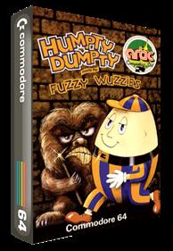Humpty Dumpty meets the Fuzzy Wuzzies - Box - 3D
