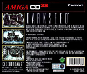 Dark Seed - Box - Back