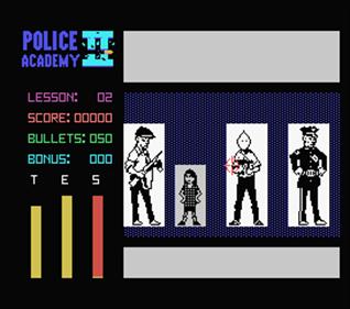 Police Academy II - Screenshot - Gameplay