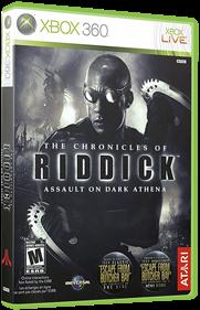 The Chronicles of Riddick: Assault on Dark Athena - Box - 3D
