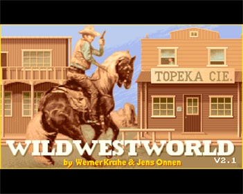 Wild West World - Screenshot - Game Title