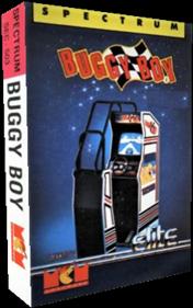 Buggy Boy - Box - 3D