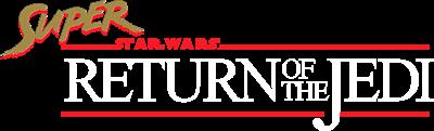 Super Star Wars: Return of the Jedi - Clear Logo