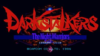 Darkstalkers: The Night Warriors - Screenshot - Game Title