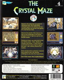 The Crystal Maze - Box - Back