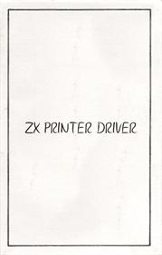 ZX Printer Driver