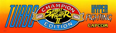 Hyper Street Fighter II: The Anniversary Edition - Arcade - Marquee