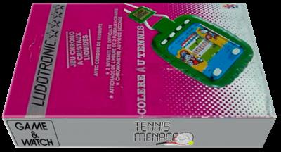 Tennis Menace - Box - 3D