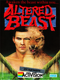 Altered Beast - Box - Front