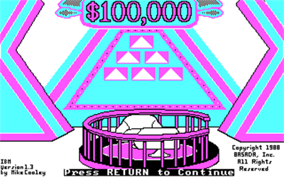 The $100,000 Pyramid - Screenshot - Game Title