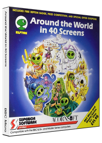 Around the World in 40 Screens - Box - 3D