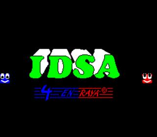 4 En Raya - Screenshot - Game Title