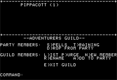 Phantasie II - Screenshot - Gameplay