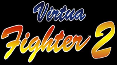 Virtua Fighter 2 - Clear Logo