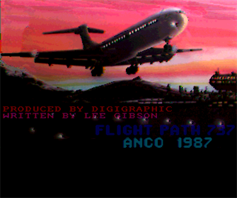 Flight Path 737 - Screenshot - Game Title