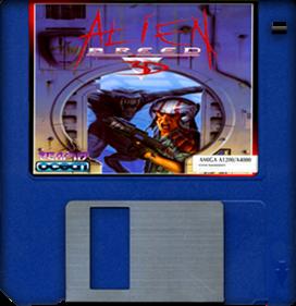 Alien Breed 3D - Fanart - Disc