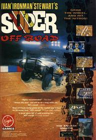 "Ivan ""Ironman"" Stewart's Super Off Road - Advertisement Flyer - Front"