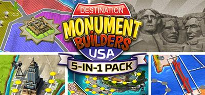 5-in-1 Pack: Monument Builders: Destination USA