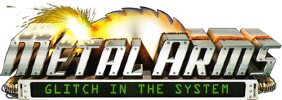 Metal Arms: Glitch in the System - Clear Logo