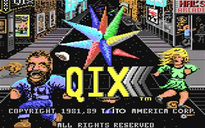 Qix - Screenshot - Game Title