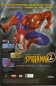 Spider-Man 2: Enter Electro - Advertisement Flyer - Front