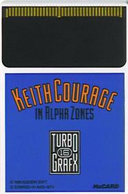 Keith Courage in Alpha Zones - Cart - Front
