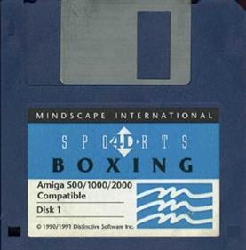 4D Sports Boxing - Disc