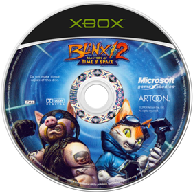Blinx 2: Masters of Time and Space - Disc