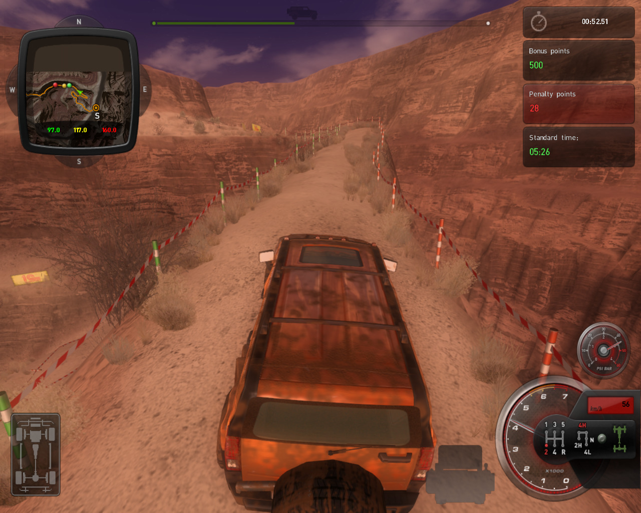 4x4 Hummer Details - LaunchBox Games Database