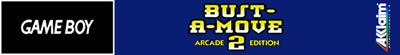 Bust-A-Move 2: Arcade Edition - Banner