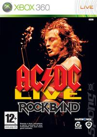 AC/DC Live: Rock Band Track Pack - Box - Front