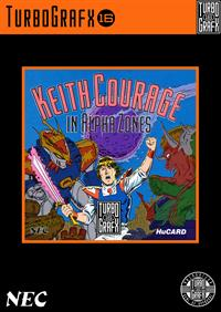 Keith Courage in Alpha Zones - Fanart - Box - Front