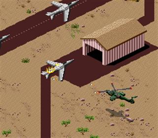 Desert Strike: Return to the Gulf - Screenshot - Gameplay
